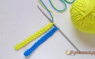 Соединительная петля крючком: мк по вязанию пошагово с фото и видео-уроками для начинающих