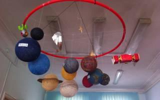 Макет солнечной системы своими руками: мастер класс для школы с фото