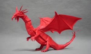 Оригами дракон из бумаги: схема и как сделать когти дракона для начинающих