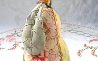 Как пошить игольницу своими руками в виде красивой сочной груши