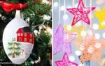 Идеи новогодних поделок: украшения дома быстро и просто