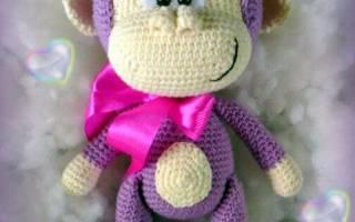Мартышки вязаные крючком: схемы для детей и взрослых