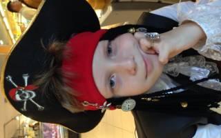 Детский новогодний костюм своими руками: варианты пирата, кошки и ковбой