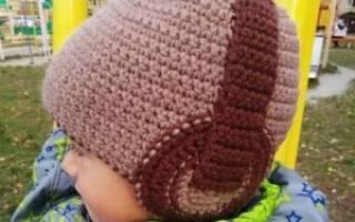 Схема шапки крючком для мальчика любого возраста (с фото и видео)