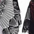Накидка для женщин крючком: схемы и описание как сделать на вечернее платье