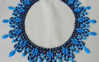 Ожерелье из бисера своими руками: мастер класс для начинающих с фото