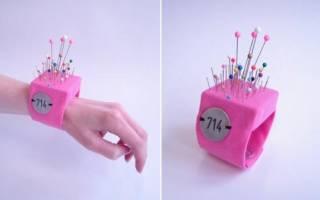 Подушечка для иголок: делаем своими руками с помощью пошагового мастер-класса с фото