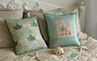 Подушка с вышивкой: варианты своими руками