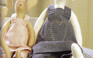 Выкройки одежды для зайцев тильда: мастер класс с фото и видео