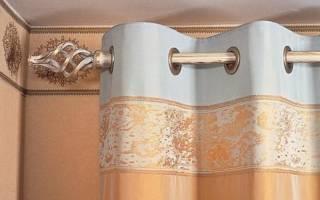 Люверсы на шторы: мастер класс без шитья
