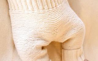Вязание спицами штанишек для новорожденных — схемы вязания для начинающих