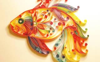 Мастер класс по квиллингу для начинающих: рябина, картины и бабочка