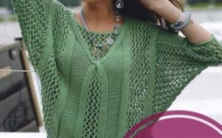 Вязаный спицами пуловер: женский, мужской, ажурный, для мальчика и девочки