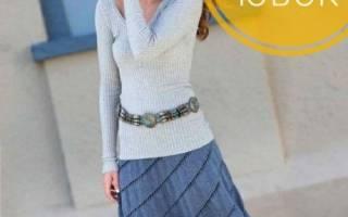 Вязаные юбки спицами для девочек, женщин со схемами и описаниями