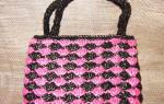 Пляжная сумка крючком: мастер класс и схема вязания, пошаговые фото и видео