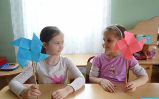 Вертушка из бумаги своими руками: схема оригами