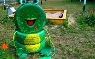 Лягушка из шин: как сделать своими руками новичкам