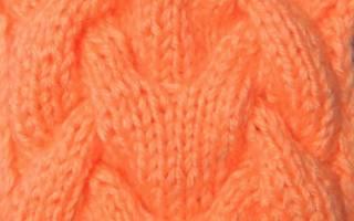 Королевская коса спицами: схема и описание процесса изготовления пошагово (фото прилагаются)