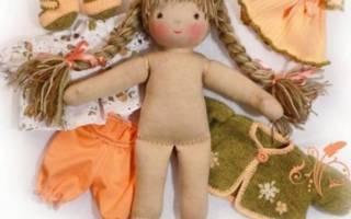 Кукла из ткани своими руками: мастер класс и схема с фото