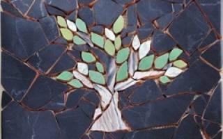 Мозаика из битой плитки своими руками: орнамент в ванной и на кухне