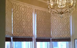Жалюзи из ткани своими руками: мастер класс на окна с фото