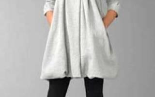 Выкройка пальто с капюшоном: короткого и с большим капюшоном