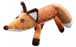 Игрушка лис из «маленького принца»: варианты из фетра