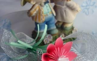 Подарок маме на 8 марта своими руками: оригами цветы
