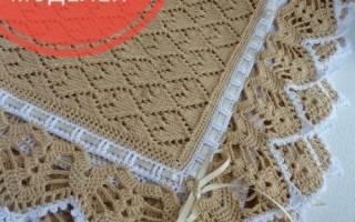 Одеяло для новорожденного своими руками: схемы для начинающих с фото