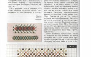 Монастырское плетение в крестик: мастер класс и техника для начинающих мастеров