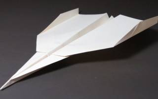 Как сделать самолет из бумаги, который далеко летает и долго: схема и пошаговая инструкция с видео