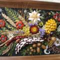 Панно из природного материала: делаем на тему осень своими руками