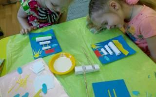 Аппликации для детей: новогодние варианты и идеи на день защитника отечества