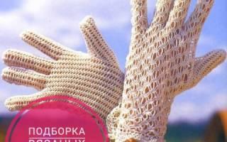 Ажурные перчатки для девочки: схемы и описание как делать крючком