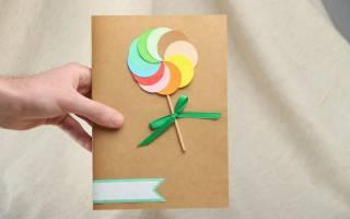 Открытки на день рождения своими руками: оригинальные открытки по фото-подборке