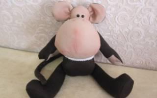 Выкройка тильды обезьянки: мастер класс как сшить в натуральную величину