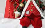 Санта клаус своими руками: описание c фото