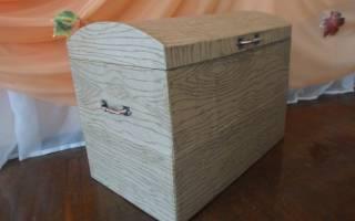 Пиратский сундук своими руками: расскажем как можно сделать из коробки и из картона