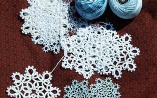 Фриволите: схемы салфеток для начинающих и способы плетения овальной салфетки