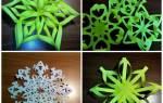 Как вырезать красивую снежинку: делаем пошагово