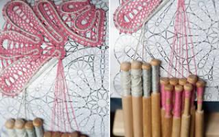 Плетение на коклюшках для начинающих: мастер класс как делать узоры и техника кружева