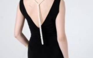 Выкройка платья в пол: с длинными рукавами и открытой спиной