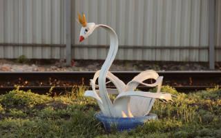 Лебедь из покрышек: пошаговая инструкция и схема