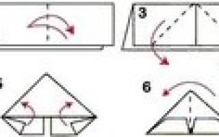 Объемные поделки из бумаги: схемы для новичков